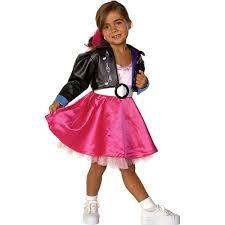 50s Halloween Costumes Kids Amazon Jukebox Jill 50s Kids Costume Toys U0026 Games