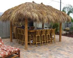 outdoor tiki hut bar tropical outdoor tiki hut gallery xtend