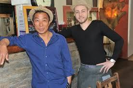 responsable cuisine à gauche yann béal chef de cuisine et à dorite julien responsable