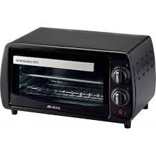 ariete tostapane ariete 980 10l 800w nero grill fornetto con tostapane quareco