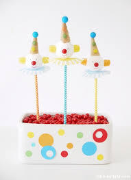 themed cake pops how to make diy circus clown cake pops party ideas party