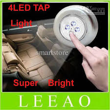 Led Stick On Lights 2017 Super Bright 4 Led Stick On Tap Lights Adhesive Night Push