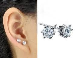 diamond stud earrings for women 31 new women wearing stud earrings playzoa