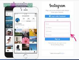 cara membuat akun instagram secara online cara membuat akun instagram di pc belajar komputer dasar palu
