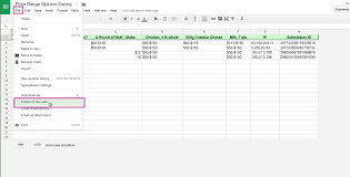 Form To Google Spreadsheet How Can I Embed A Google Spreadsheet Into My Form Jotform
