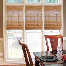 Levolor Roman Shades - bamboo roman shades for the indoor decoration home interiors