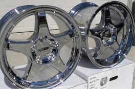 chrome corvette wheels corvette black c6 z06 style wheels