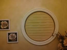 i do designs round window covering blind for en suite