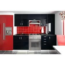 meuble cuisine laqué noir cuisine laque noir cuisine complate 220 cm oxane noir laquac ikea