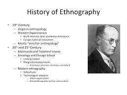 Armchair Anthropology Non Experimental Methods
