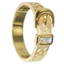 wedding ring designs gold 0 24 ctw princess cut gold belt design wedding band created