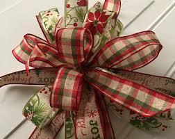 christmas gift bow christmas gift bow etsy