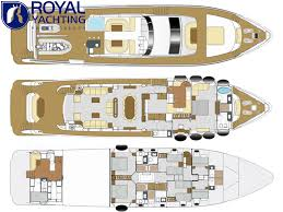 Luxury Yacht Floor Plans by Gulf Craft Majesty 105 2014 Details Used Boats For Sale In Dubai