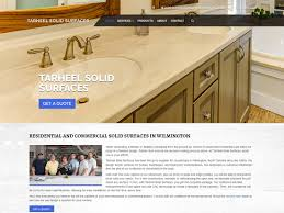 design interventions websites built by wilmington website design tarheel solid surfaces