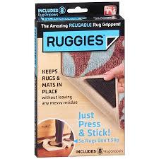 Corner Rug Grippers Ruggies Rug Grippers Walgreens