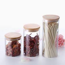 glass kitchen canister glass kitchen canister sets ebay