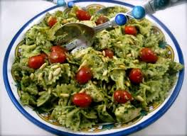 pasta salad pesto make ahead party pesto pasta chicken salad peggy lman s