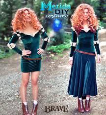 diy merida costume hair u0026 makeup tutorials babble