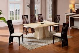 Marble Top Dining Room Tables Modern Dining Table A Dream By Including That Splendid Concrete