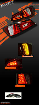 lexus indicator lights clear 3d stripe bar led lights for lexus isf is250 is350