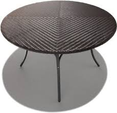 outdoor wicker dining table 48 round patio table impressive 48 inch patio table strathwood padre