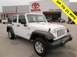 used jeep wrangler used jeep wrangler unlimited for sale in fayetteville ar 66