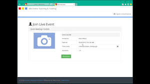 online class software class schedule instant online meetings with electa live