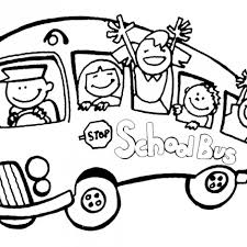 bus driver coloring page clipart panda free clipart images