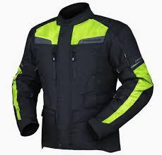 yellow motorcycle jacket dririder compass 2 motorcycle jacket hi viz fluoro yellow