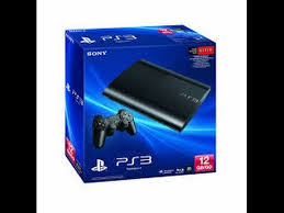 black friday ps3 sony playstation 3 super slim 250gb ps3 console system save 7