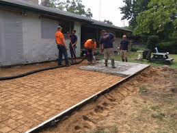 Patio Foundation Concrete Patios Installation And Removal Patio Extensions