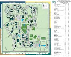 Pacific University Campus Map Campus Map Uf St Thomas Virgin Islands Map