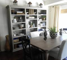 dining room storage ideas brown varnished wooden dining table