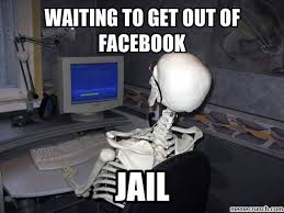 Meme Facebook - to get out of facebook