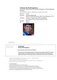 Smt Operator Resume Resume Prakash