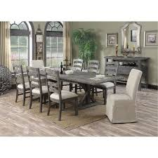 9 piece dining table set charcoal 9 piece dining set paladin rc willey furniture store