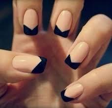 best 20 reverse french manicure ideas on pinterest moon