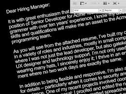 effective cover letter format 7 tips for writing an effective cover letter cio
