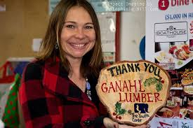 ganahl lumber helps the youth center christmas tree lot happen
