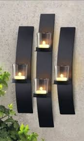 Glass Wall Sconces For Candles Sconce Modern Wall Mounted Candle Holder Inspiring Glass Wall
