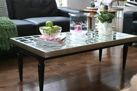 Coffee Table Mirror by Mirrored Coffee Table Furniture Vanity Decoration