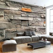 wallpaper that looks like brick or stone best dollhouse wood