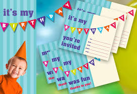 kid u0027s birthday party printable invite u0026 thank you sew4home
