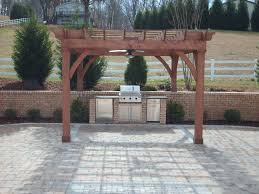 pergola design fabulous small patio grill ideas outside built in