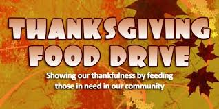 thanksgiving food drive for mesquite social services nov 12 19
