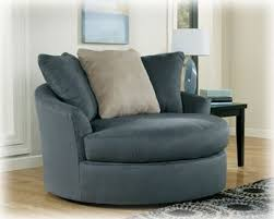 Oversized Accent Chair Oversized Swivel Chair In Ndigo Finish By
