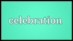 celebration meaning