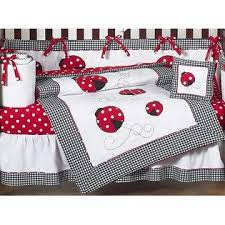 Ladybug Crib Bedding Set Sweet Jojo Designs Ladybug Collection 9pc Crib Bedding Set