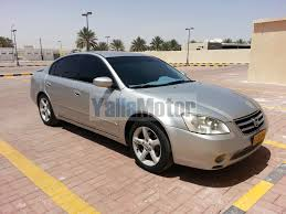nissan altima yalla motors used nissan altima 2 5 sl 2007 car for sale in muscat 595699