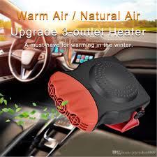 heater and fan in one 2018 150w 12v car heater fan defroster dashboard cigarette socket